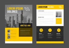 Modern business corporate brochure by Orson on @creativemarket