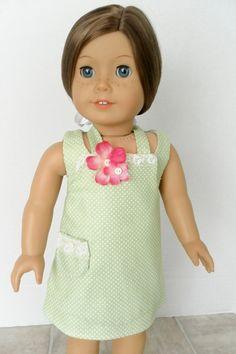 Polka Dot Summer Outfit  American Girl Doll by JessicasDollCloset, $19.99