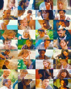 Such a powerful picture of the LOST cast Eyes Closed Live Together, Die Alone Lets Get Lost, Im Lost, Series Movies, Tv Series, Serie Lost, Terry O Quinn, Lorien Legacies, Lost Tv Show, Josh Holloway