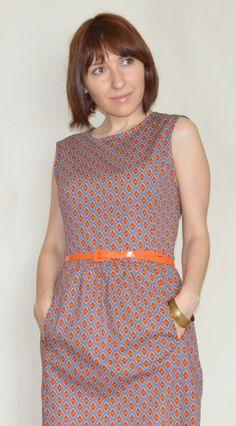 Talent's Sister: Платье+жилет / Dress'n'Vest Burda 1/2013, mod. 104