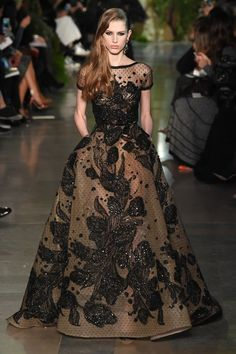 Elie Saab SPRING/SUMMER 2015COUTURE Looking back to Beirut and a bygone era Elie Saab Spring, Couture Collection, Spring 2015, Summer 2015, Fall 2015, Spring Couture, Paris Fashion, Couture Fashion, High Fashion