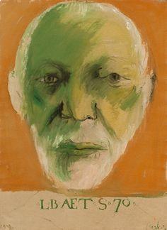 Leonard Baskin - Self Portraits |