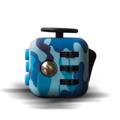 Quality Silicone Buttons Camouflage Fidget Cube Toy Anti Srtress Fidget Stress Relieve