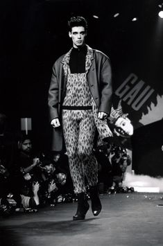 1986-87- Jean Paul Gaultier show