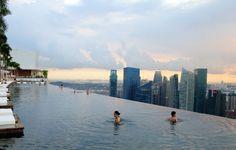 싱가포르 마리나 베이 샌즈 호텔 인피니티 풀 & 카지노 / Marina Bay Sands Singapore