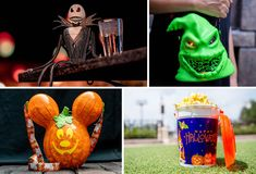 It's spooky season again at Walt Disney World Resort, and that means it's time for the highly-anticipated return of yummy fall treats #fall #halloween #pumpkin #pumpkinspice #fallatdisney #halloweenatdisney
