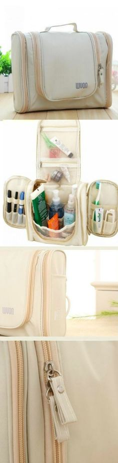 Travel Toiletry Bag Organizer! Click The Image To Buy It Now or Tag Someone You Want To Buy This For. #BeigeBag