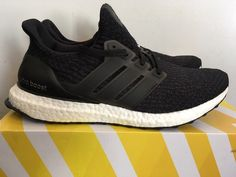 07b50231a97081 Men s Adidas Ultra Boost 3.0 Size 9.5 Core Black New Adidas Ultra Boost