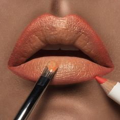 Hollywood #LipTar, lined with Grandma #OCCPencil!