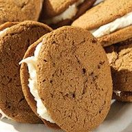 I love gingerbread!  Gingerbread Whoopie Pies: Another Christmas dessert I want to try out.