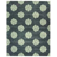 I pinned this Safavieh Soho Medallion 5' x 8' Rug in Slate from the Ginger Brewton Interiors event at Joss & Main!