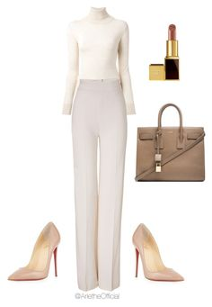 """""""Untitled #7"""" by arietheofficial ❤ liked on Polyvore featuring Ermanno Scervino, Emilia Wickstead, Christian Louboutin, Yves Saint Laurent and Tom Ford"""