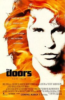 The Doors is a 1991 biopic about the 1960s-1970s rock band of the same name which emphasizes the life of its lead singer, Jim Morrison. It was directed by Oliver Stone, and stars Val Kilmer as Morrison, Meg Ryan as Pamela Courson (Morrison's companion), Kyle MacLachlan as Ray Manzarek, Frank Whaley as Robby Krieger, Kevin Dillon as John Densmore, and Kathleen Quinlan as Patricia Kennealy.  The film portrays Morrison as the larger-than-life icon of 1960s rock and roll.