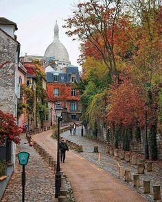 An autumn day in Mon
