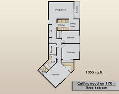 Three Bedroom Apartment for rent in Edmonton | Callingwood on 170th Apartments | Edmonton Central | Kelson Group