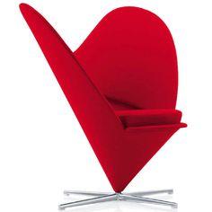 El mejor regalo para San Valentín: Un silla con forma de corazón http://www.icono-interiorismo.blogspot.com.es/2015/01/el-mejor-regalo-para-san-valentin-un.html