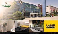 Produtos Laser Build no Norte Shopping, Matosinhos. #Mediclinics #LaserBuild #WC #Arquitectura #Engenharia #Construção #Shopping #Norte
