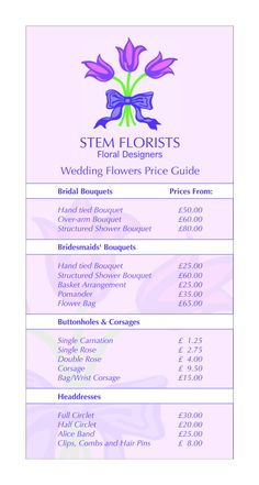 planning a wedding designworks florists owned and operated by one