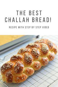 Challah Bread Recipes, Easy Bread Recipes, Yeast Bread, Artisan Bread, Baked Goods, Tart, Honey, Eggs, Homemade