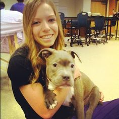 #Regram from #evit #massagetherapy student @Nicole Novembrino DePasquale. They got to massage dogs today. #weareevit