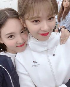 Nayeon & Jeongyeon Twice 180824 Kpop Girl Groups, Korean Girl Groups, Kpop Girls, Extended Play, K Pop, Twice Once, Nayeon Twice, Dahyun, Wattpad