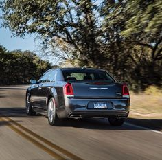 Exhilaration in every curve. #Chrysler300