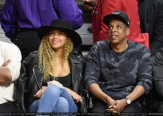 Oklahoma City Thunder vs. Los Angeles Clippers Game (March 2) - Beyoncé Online Photo Gallery