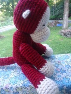 Curious George crochet pattern
