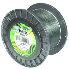 Power Pro 100Lbx500Yd Green PP Braid 100-500-G