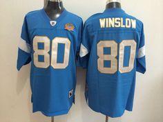 Kellen Winslow San Diego Chargers Blue NFL Premier Throwback Jersey