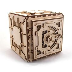 UGEARS Mechanical Safe Construction Kit is the gorgeous premium grade plywood puzzle for amateur builders and wannabe safecrackers alike. - See more at: https://www.thefowndry.com/products/ugears-safe-construction-kit#sthash.iEWge24W.dpuf