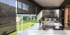 Luxaflex Outdoor Awnings represents the latest in design and functionality, all made with high quality materials and smooth operating systems. Window Coverings, Window Treatments, Three Birds Renovations, Dining Nook, Window Styles, Tiny Spaces, Small Space Living, Fabric Panels, Outdoor Entertaining