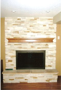 painted brick fireplaces | Painting Brick Fireplaces | Brick Fireplace Ideas
