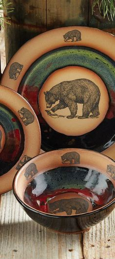 Forest Bear Pottery #rustic