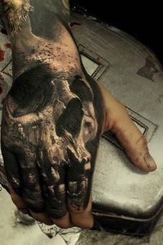 tattoo amazing skull 3