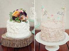 Love both of these small cakes to cut!
