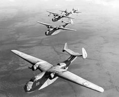 Martin PBM Mariners in formation 1943