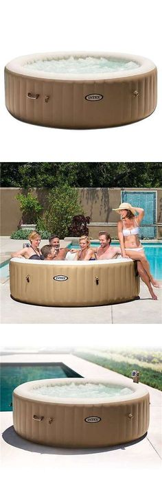 Spas and Hot Tubs 84211: Intex Pure Spa 6-Person Inflatable Heated Bubble Massage Hot Tub (Open Box) -> BUY IT NOW ONLY: $419.95 on eBay!