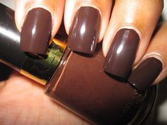 Revlon nail polish in Hot For Chocolate