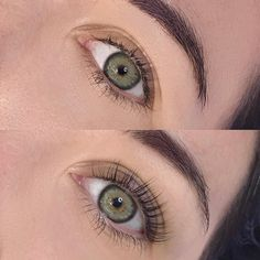 I Tried a Lash Lift and It Made Me Break Up With Lash Extensions - Care - Skin care , beauty ideas and skin care tips Natural Makeup For Brown Eyes, Natural Lashes, Fake Lashes, Long Lashes, Permanent Curls, Lash Perm, Eyelash Extensions Styles, Eyelash Lift, Eyelash Tinting