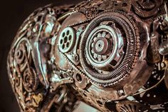 Iranian artist Hasan Novrozi welded these incredible sculptures from various pieces of scrap metal. Check his faceboo...