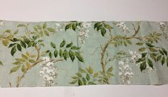 Colefax Fowler Alderney Aqua Floral Fabric