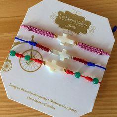 Pulseras de hilo by Luz Marina Valero Jewelry