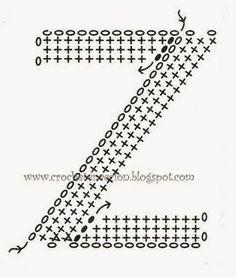 alfabeto+crochê+gráfico+(49).jpg (271×320)