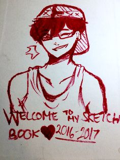 PLEASE READ: Okay so I just finished up my main sketch pad of 2016-2017 and so I'll be posting my WHOLE sketch book so I'll be spamming. You'll notice some stuff I've posted before like requests and stuff. A LOT OF STUFF IS INAPPROPRIATE SORRY IF I TRIGGER YOU. Anyways! A lot of stuff is unfinished but I hope you guys like it. Page 1: cover by: Bob the dolphin (a lot of my art here is old SO CRINGE)