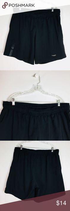 Reebok  Men's Shorts Size Athletic Fitness Running Reebok  Men's Shorts Size XXL Athletic Sport Fitness GYM Runing Black Reebok Shorts Athletic