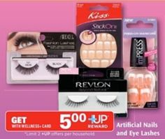 Make over $3 back with Better Than FREE Artificial Nails or Eye Lashes starting 3/30 at Rite Aid!   Click the link below to get all of the details  ► http://www.thecouponingcouple.com/better-than-free-artificial-nails-or-eye-lashes-starting-330-at-rite-aid/