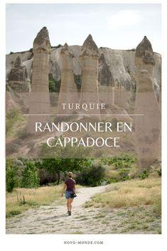 Quels sont les plus beaux sentiers de Cappadoce? On vous donne nos itinéraire (avec cartes) pour partir explorer la Cappadoce loin des foules. #cappadoce #turquie #goreme #uchisar #lovevalley #rando #itineraires