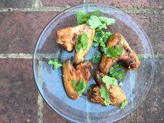 Chicken Wings With Honey Yogurt Sauce