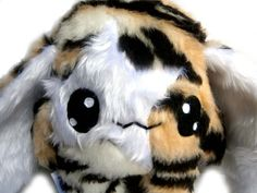 Fluse Kawaii Plush Tiger Hase  von Fluse-123 auf DaWanda.com